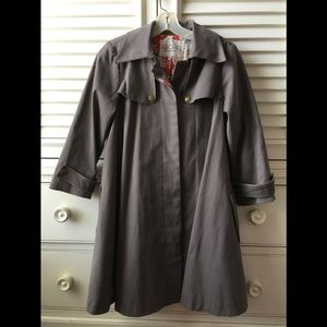 Rachael Roy swing coat